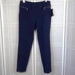 Pull-on skinny jeans L